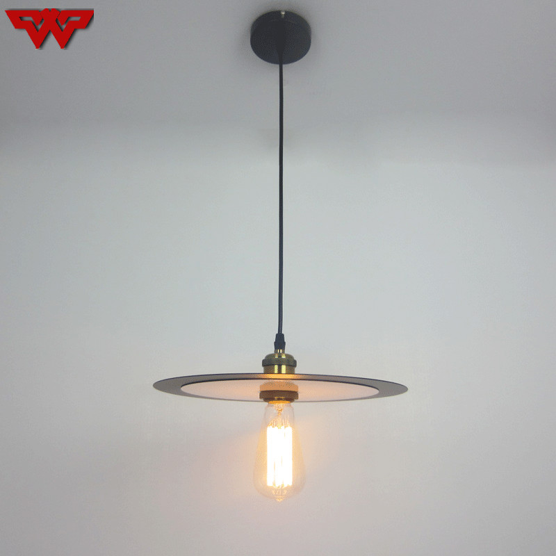 New product recommends fashion industrial chandelier retro lighting iron chandelier double sided flying saucer chandelier|Pendant Lights| |  - title=