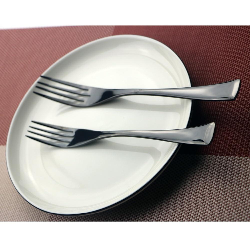 5Pcs/Lot Black Cutlery Set 18/10 304 Stainless Steel Dinnerware Set Fork Knife Silverware Set Home Tableware Set Dessert Fork-in Dinnerware Sets from Home ...  sc 1 st  AliExpress.com & 5Pcs/Lot Black Cutlery Set 18/10 304 Stainless Steel Dinnerware Set ...