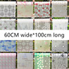 60cmX100cm Transparent Opaque Glazed Paper Frosted Glass Stickers Window Stickers Bathroom Shade Windows Painted Cellophane