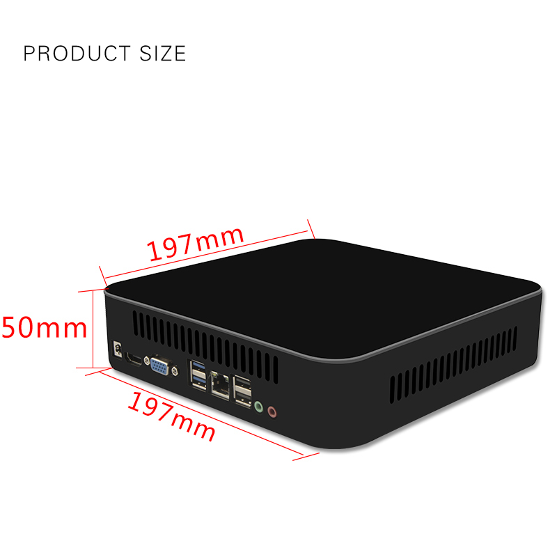 Image 4 - MSECORE Game Quad Core i7 4700HQ GTX750TI DDR5 4G Video RAM Mini PC Windows 10 Desktop Computer Nettop barebone system HTPC WiFi-in Mini PC from Computer & Office