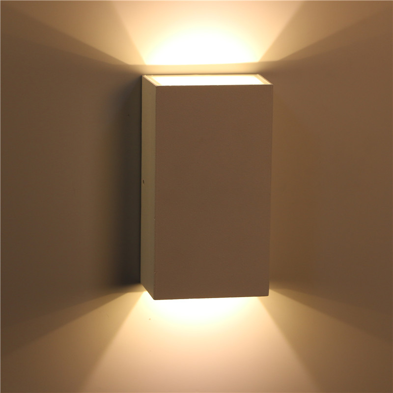 LED Wall Light Outdoor Waterproof IP65 Porch Light Garden Lamp Indoor Wall  Sconce Living Room Lighting