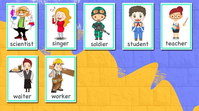 Jogos de aprendizagem Toy kids Flash Palavra