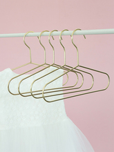5pcs Nordic Gold Iron Mini Hangers Wall Hook Storage Rack Home Organizer Decoration Accessories For Baby Kid Clothes Dress Towel
