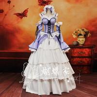 Free Shipping Animation Chobits Chii Cosplay Costumes Lolita Long Female Princess Dresses