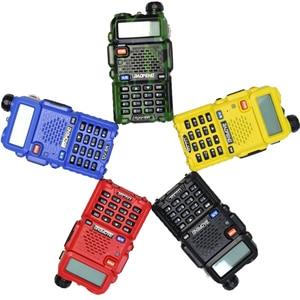Image 2 - BaoFeng walkie talkie UV 5R two way cb radio upgrade version baofeng uv5r 128CH 5W VHF UHF 136 174Mhz & 400 520Mhz