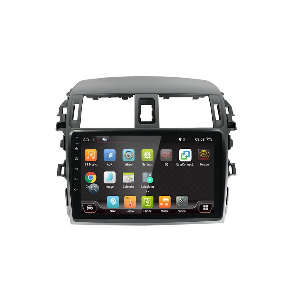 Android 10.0 Car DVD Radio Multimedia Player For <font><b>Toyota</b></font> <font><b>Corolla</b></font> <font><b>E140/150</b></font> 2008 2009 2010 2011 2012 2013 Stereo GPS Navigation IPS image