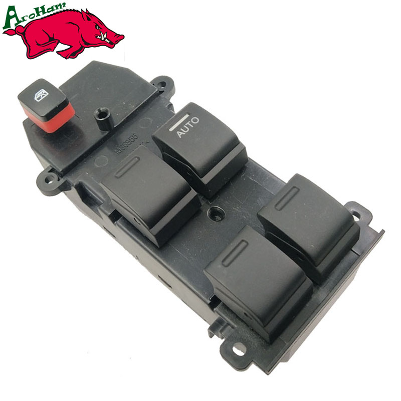 Window Switch for Honda FIT 2009 Right Driver Side 22Pins for Honda City 07-12 RHD 35750-TM0-A01 31170 raa a01 belt tensioner fit for honda