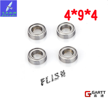 For GT500 RC Helicopter (3 Pieces/Lot) 4*9*4 Size Bearing  100% Fits Align Trex 500