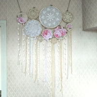 Free Shipping Boho Inspired Dream Catcher Set Room Wall Art Hanging Decorations Beach Lawn Wedding Photograpy Props Handmade