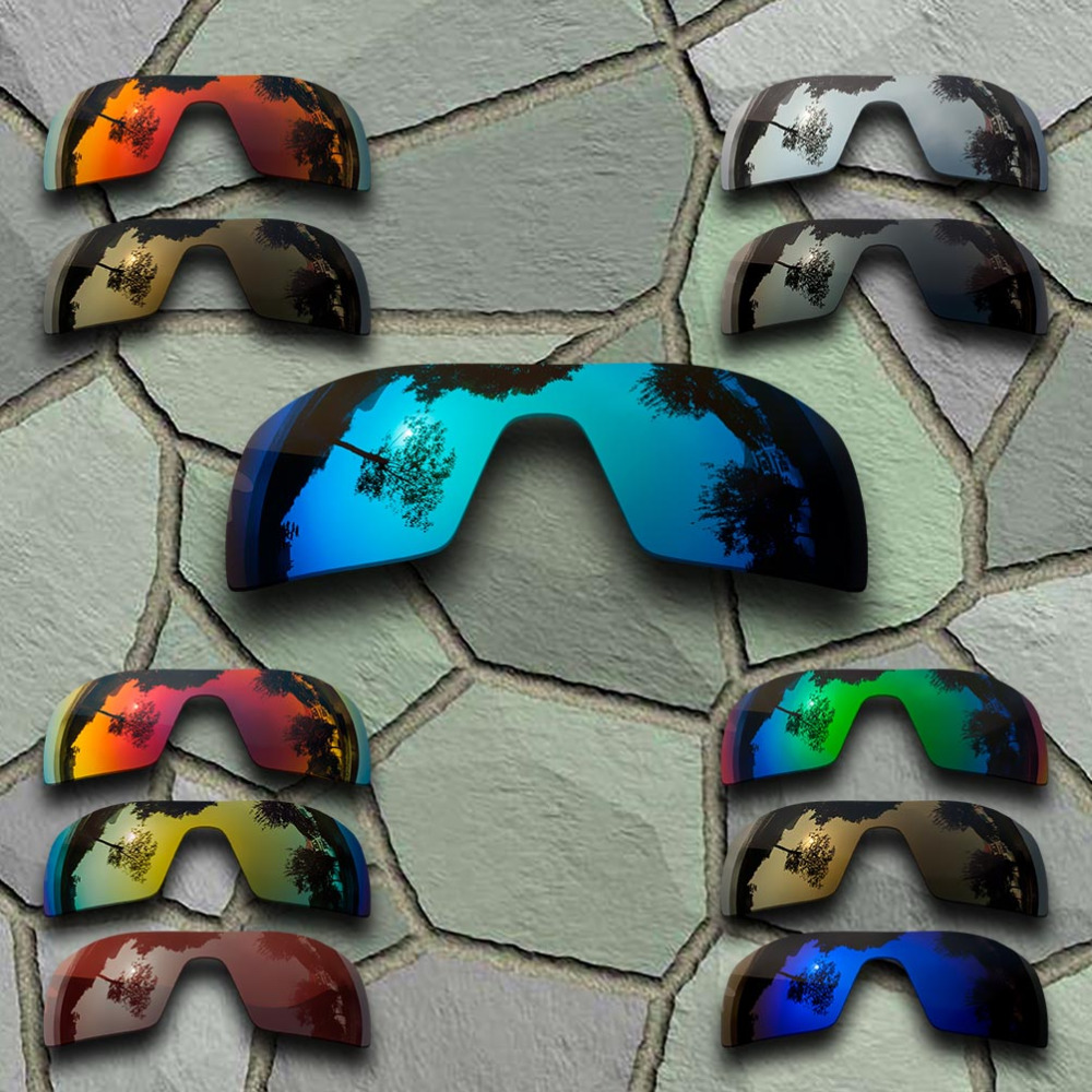 Sunglasses Polarized Replacement Lenses For Oakley Oil Rig - Varieties