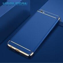 Monila Royal Gold Metal Plating Hard Luxury Case For