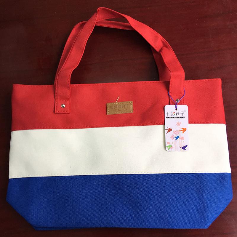 2017 New Mujer Summer Messenger Bag Beach Handbag Bags Brand Totes Women Ladies Stripes Canvas Shoulder Bag Drop Shipping N508 12