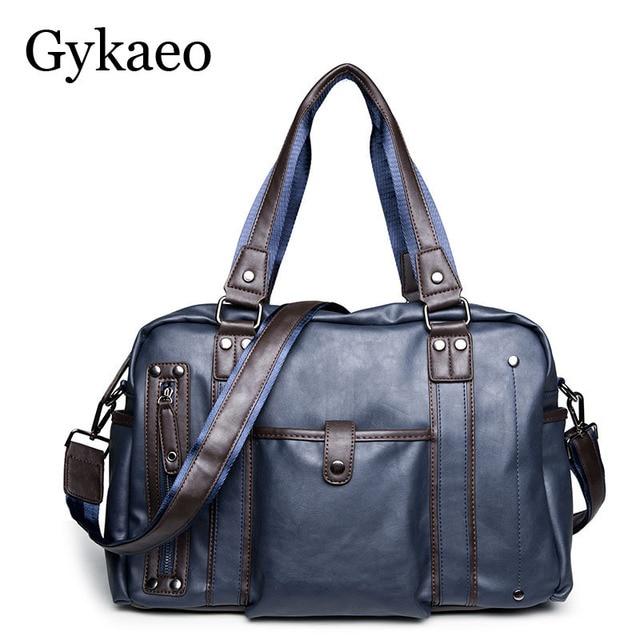 6d6db3ace Nova famosa marca de Luxo homens de negócios de couro bolsa de couro de alta  qualidade