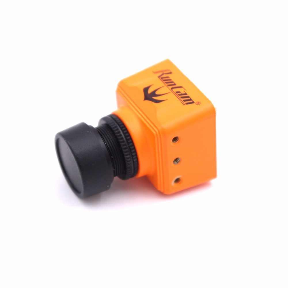 "RunCam Swift Mini 2 caméra 600TVL 5-36V FPV caméra objectif PAL D-WDR 1/3 ""SONY Super HAD II CCD pour FPV course Drone quadrirotor"