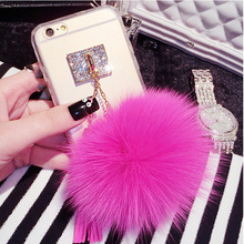 Fox Fur Ball Phone Case For iPhone