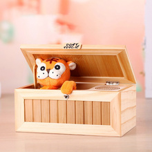 Don't Touch Useless Box Interesting Toys With Tiger Funny Strange Anti Stress Desk toys