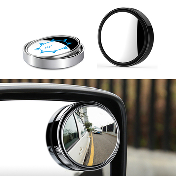 DOTAATDW 2x 360 Degree Car Blind Spot mirror view mirror For BMW m3 m5 e46 e39 e36 e90 e60 f30 e30 e34 f10 e53 f20 e87 x3 x5 image