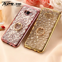 Luxury 3D Ring Case For Samsung