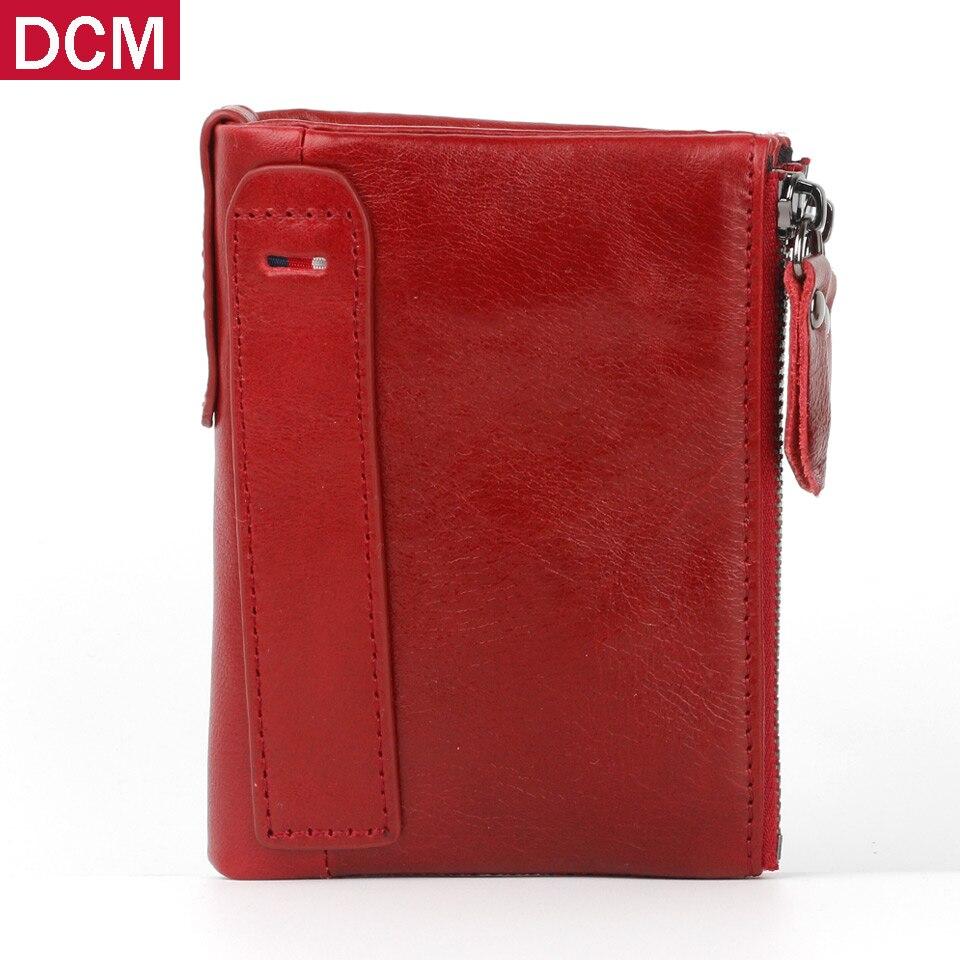 brand Male Small Portomonee Vallet Men Genuine Leather Wallet Small Portomonee Homme Wallet With Coin Purse Rfid Mini Wallet