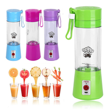 USB Electric Fruit Juicer Charging Blender Juicer, Food Mixer Portable Small Juicer Extractor Household 4 Colors Hand Blender