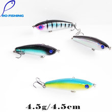 Pesca Artificials 4 5cm 4 5g 4pcs For Japan Sinking Fishing Lure Fly Fishing Carp Pencil