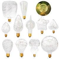 E27 3W LED Edison Fairy String Light Bulb Home Xmas Party Decor Lamp AC 85 265V