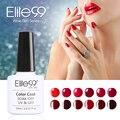 Elite99 1 unids 10 ml serie de vino tinto conjunto de esmalte de uñas de gel Empapa del Pulimento Del Gel Con Lámpara UV Uñas de Gel de Uñas Barniz