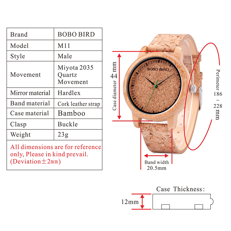 wooden wristwatches for men and women bobo bird mens watches (17)