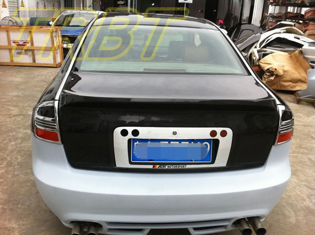 A Trunk A C Carbon Fiber Trunk Cover A Rear Trunk Tuning Parts - Audi a6 parts