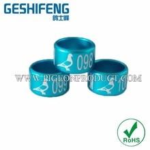 8 мм металлические кольца для гонок голубь ноги