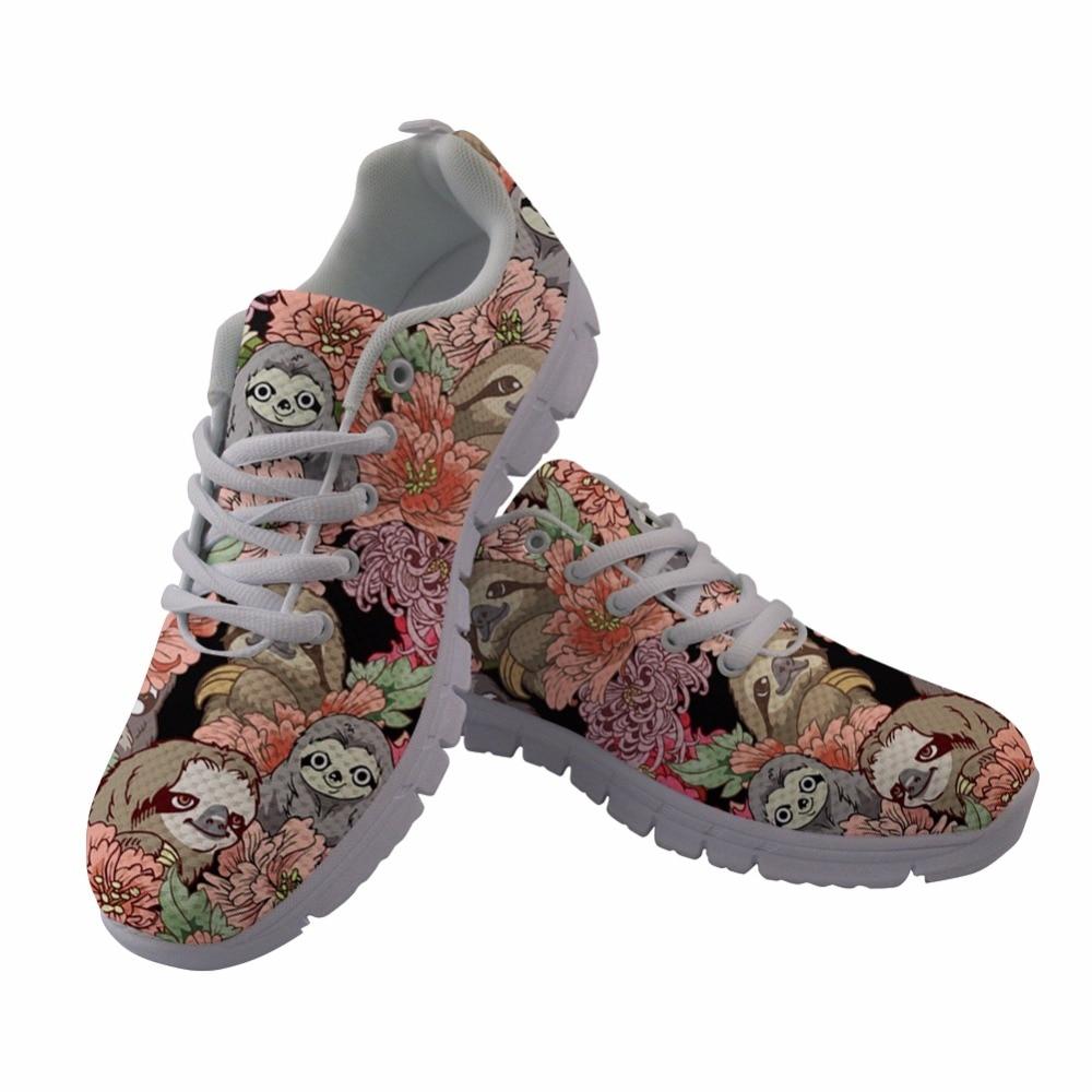 Automne Respirant Feminino Tenis Loisirs Casual Maille De Customaq Femme Paresseux hk5711aq Femmes Mignon Up Lace Chiot Plates Impression Instantarts Chaussures Sneakers wgnBqxCOg