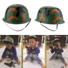 Армейский мужской военный Камуфляжный шлем для ролевых игр Костюм Солдата для детей мальчиков и девочек камуфляжная шляпа