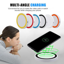 New Develop Portable Qi Wireless Power Charger Charging Pad For Samsung Galaxy S9/S9 Plus quick charger free Shipping