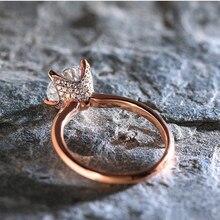 Huitan Luxury Brilliant Women Finger Ring Rose Gold Color Fashion Flower Shaped Engagement Ring For Girl New Arrival Hot Selling недорго, оригинальная цена