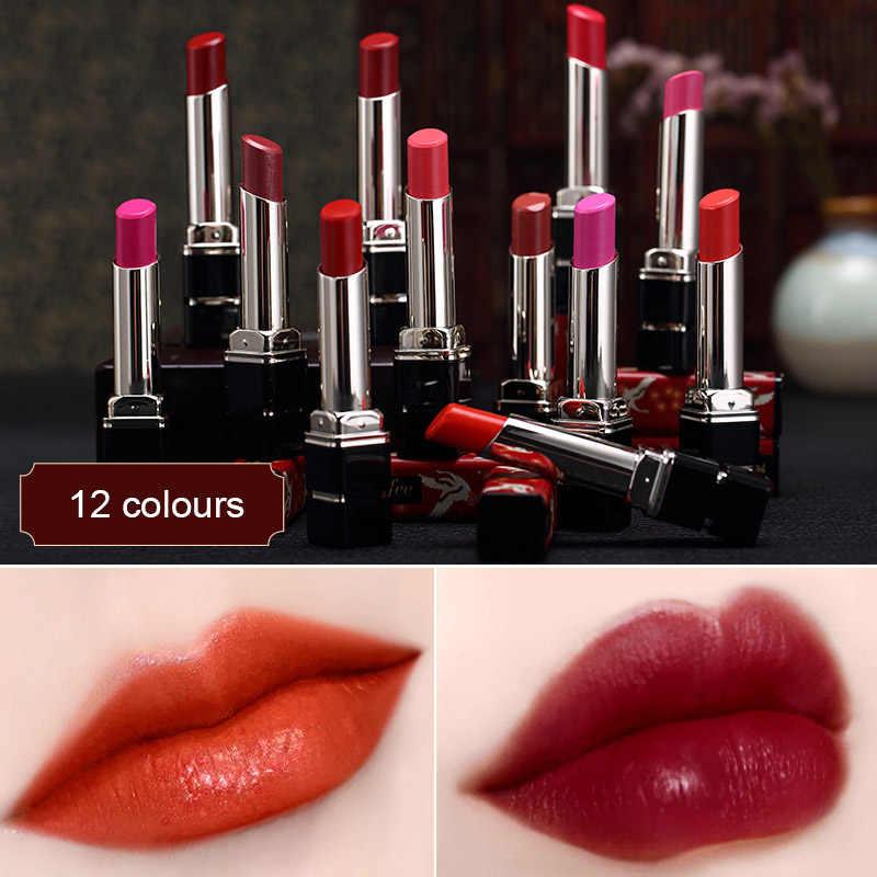 1 Pcs אסור עיר סיני סגנון מנוף שפתון לאורך זמן עמיד למים שפתיים מקל 669