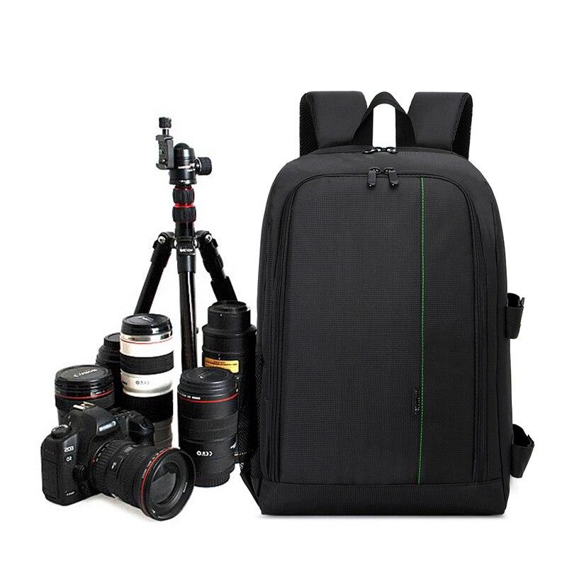 Sac PHOTO DSLR coque à photo Lentille Pochette Pour Sony A7 Mark II III A7S A7S II A7R A7RS 7M2K A7R A7RII III A7II Caméra Sac À Dos