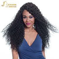 Joedir Deep Wave Lace Front Human Hair Wigs For Black Women 10 24 Remy Deep Curly Wig Human Hair Natural Color Free Shipping