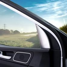 For KIA Sportage 4 QL KX5 2016/17/18 ABS Auto Interior Door Triangular Front In Window Decorative Trim Car Styling Accessories lsrtw2017 car door sill threshold trims for kia kx5 sportage forte rio 2016 2017 2018 2019 2020 interior mouldings accessories