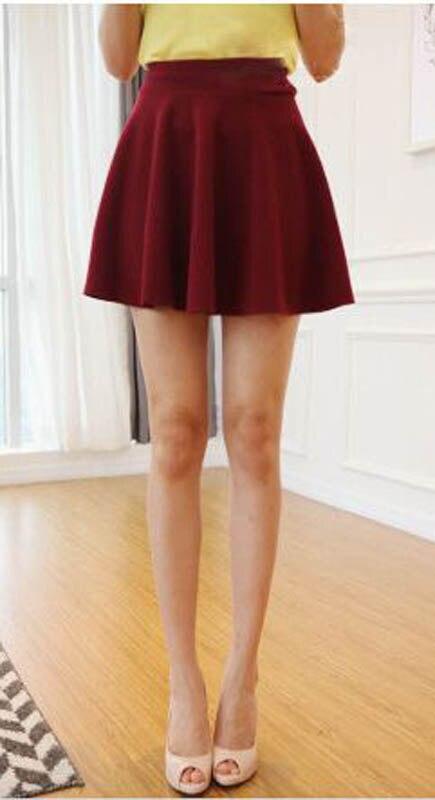 Nouveau Style Coréen Femmes A-ligne Jupe Plissée Mini Style De La - Vêtements pour femmes - Photo 2