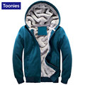 Autumn Winter Thicken Cashmere Jacket Coat Men Slim Brand Clothing Hooded Outerwear Coats Male Hip Hop Street Sweatshirt M-4XL