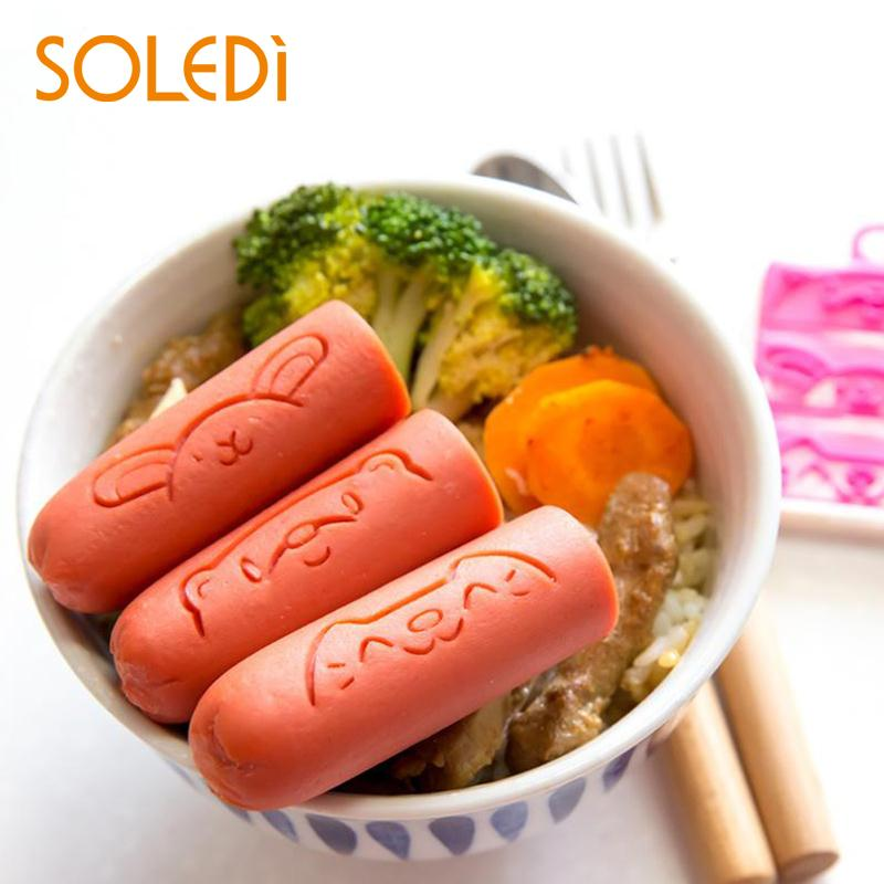 Sausage Cutter Mold Mould Picks Bento Party DIY Decorate Cute Shape Cute
