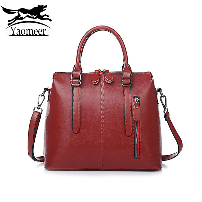 New Luxury Italian Designer Women Shoulder Messenger Bag Totes Soft Zipper Red Crossbody Bags Vintage Pu Leather Handbags Female luxury handbags women bags designer soft pu leather ladies shoulder messenger bag 2017 new fashion office woman bag casual totes
