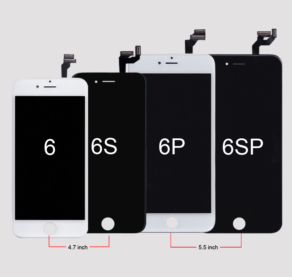 HTB15zYmev1H3KVjSZFBq6zSMXXaz AAA Quality LCD For iPhone 4 4s Replacement Screen Display Digitizer Touch Screen Assembly For iPhone 6 6s 7 LCD Screen