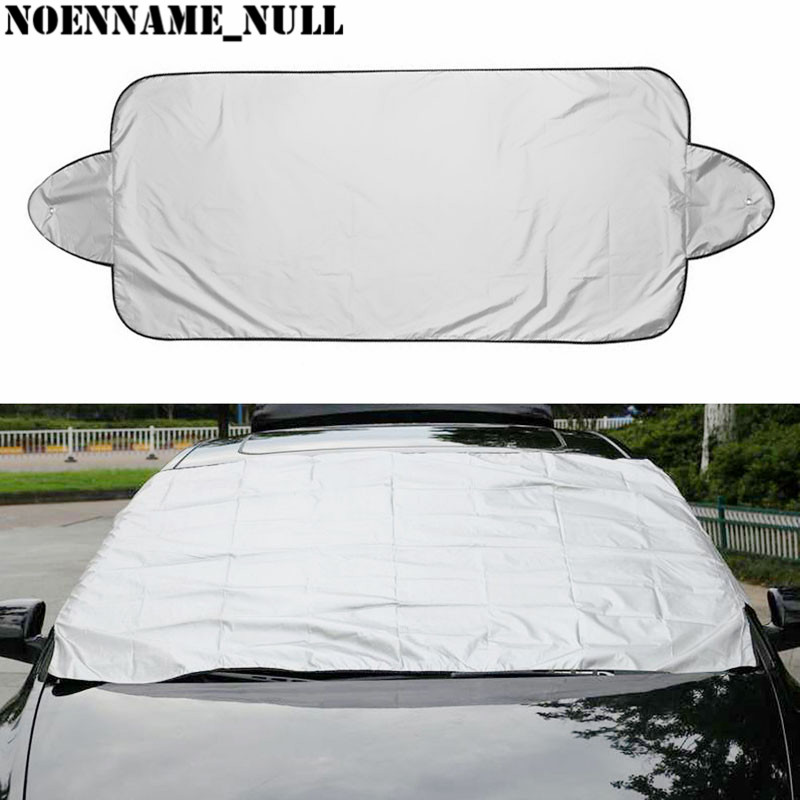 NoEnName Null Prevent Snow Ice Sun Shade Dust Frost Freezing Car Windshield Cover Protector