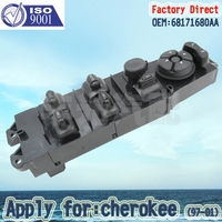 Factory Direct Front Left Master Auto Power Window Control Switch Apply For Cherokee 97 01 68171680AA