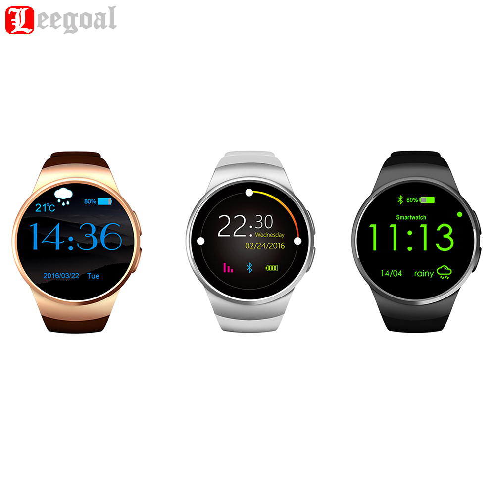 Genuine KW18 bluetooth Smart Watch for iphone 6 7plus Heart Rate Monitor Smartwatch Touch Screen for Samsung s2 s3 g2 android OS bluetooth smart watch heart rate smartwatch for iphone 5 6 plus 7 htc xiaomi meizu huawei samsung touch screen bluetooth watch