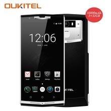 Oukitel K10000 Pro 4G Smartphone 5.5 Inch FHD 10000mAh MTK6750 Octa Core Android 7.0 3GB+32GB 13MP OTG Fingerprint Mobile Phone