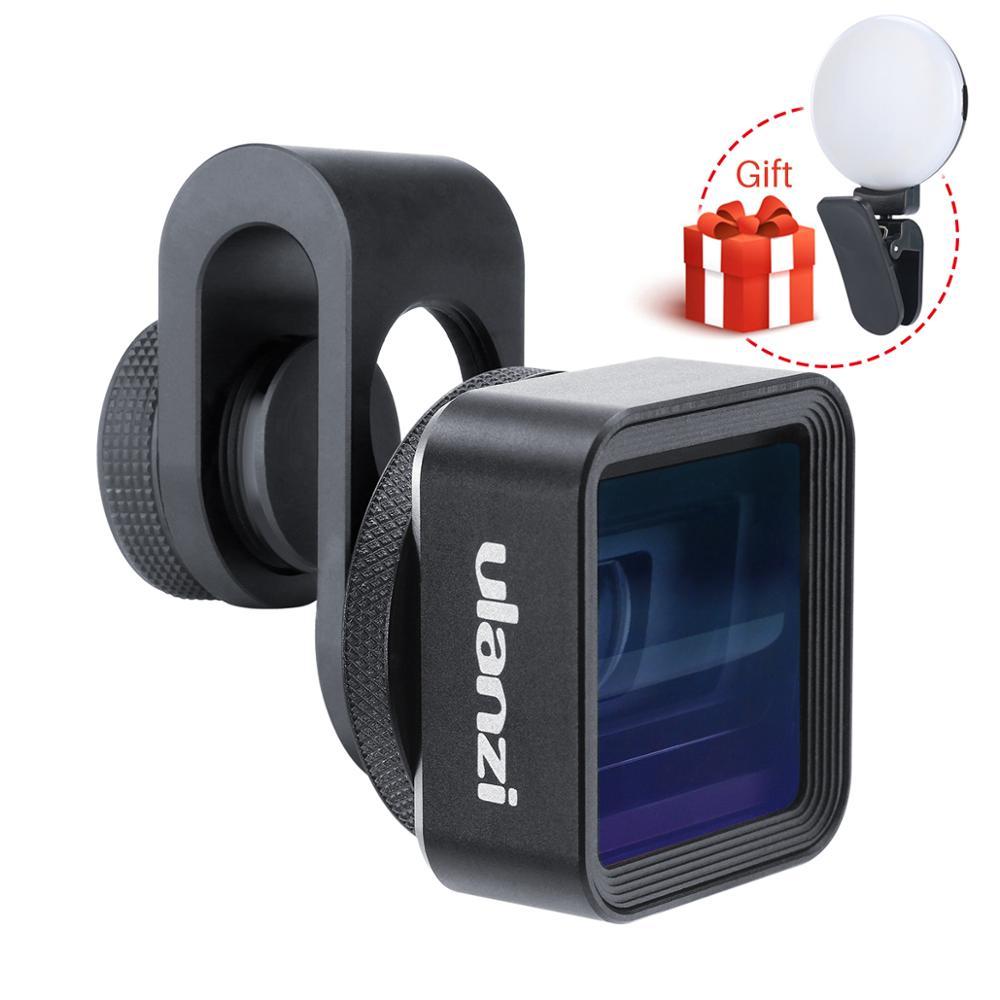 Ulanzi Universal 1 33X Anamorphic Phone Lens for iPhone Xs Max X Huawei P20 Pro Mate