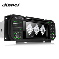 Dinpei Car radio DVD Multimedia player for Chrysler Grand Voyager Sebring Cirrus 300M Concorde PT Cruiser Town Country GPS Navi