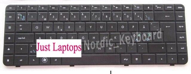 NEW Genuine HP Compaq CQ62 G62 Keyboard AEAX6U00210